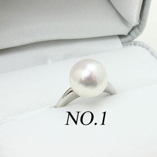 真珠 指輪 パール リング あこや真珠 パール 指輪 リング 10mm-11mm ホワイトカラー プラチナ デザイン 冠婚葬祭 フォーマル