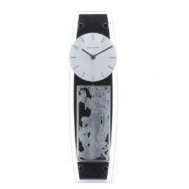 ミュシャ画エッチング 振り子時計S ミュシャ画 品質保証 オリジナル 直送商品 《名入彫刻込》