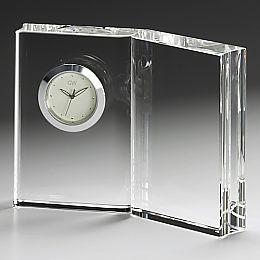 ナルミクリスタル時計[ディクショナリー]クロックM【名入彫刻】