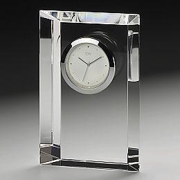 ナルミクリスタル時計[エンバシー]クロックM【名入彫刻】