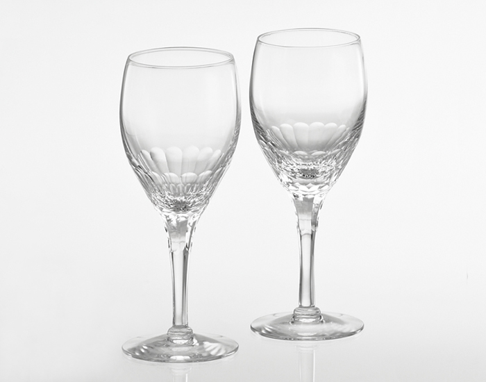 カガミクリスタル ペアワイングラス<エクラン>【名入れ彫刻】