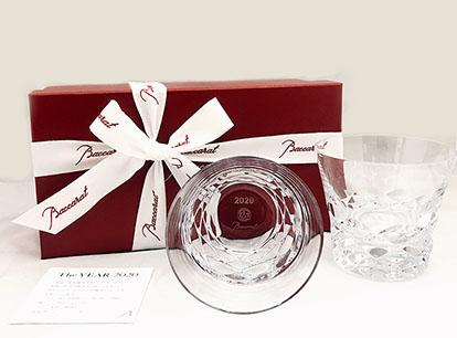 バカラグラス BRAVA 2020 ブラーヴァ ペアタンブラー≪2020年限定商品≫オリジナル ギフト商品【名入れ彫刻込】