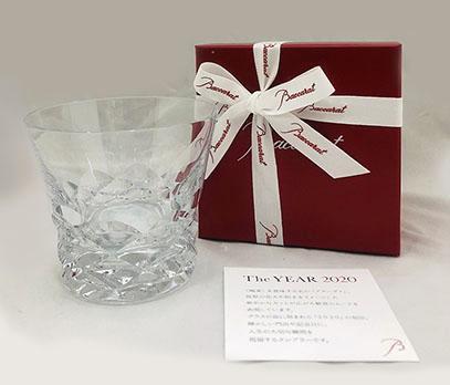 バカラグラス BRAVA 2020 ブラーヴァ タンブラー≪2020年限定品≫オリジナルギフト商品【名入れ彫刻込】