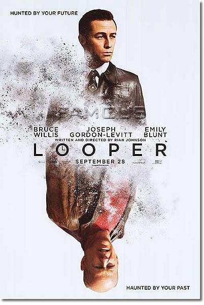 【映画ポスター】LOOPER/ルーパー (ジョセフ・ゴードン=レヴィット) /DS