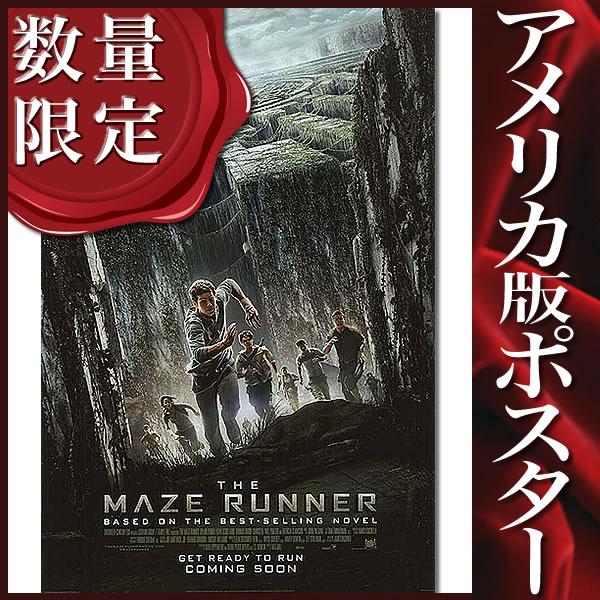 【映画ポスター】メイズランナー (ジェイミードーナン) /INT-DS