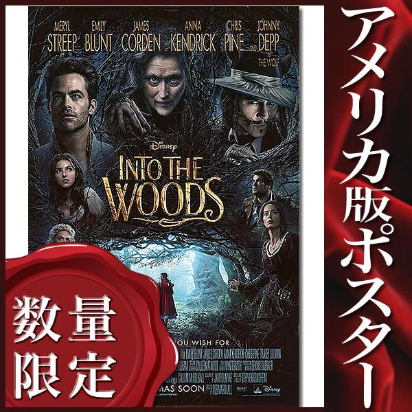 【映画ポスター】イントゥザウッズ (メリルストリープ) /B-DS