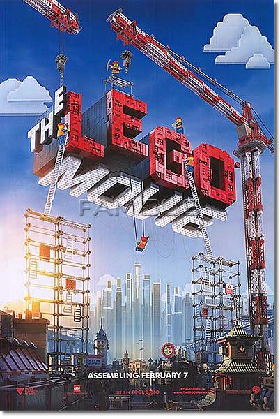 【レゴ グッズ】レゴムービー ポスター (LEGO) /ADV-DS