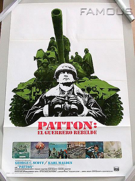 【映画ポスター】 パットン大戦車軍団 (ジョージC.スコット) /スペイン版 SS