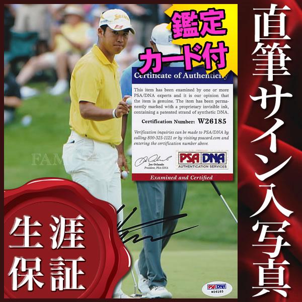 【直筆サイン入り写真】 松山 英樹 (ゴルフ グッズ)