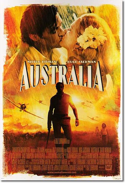 【映画ポスター】 オーストラリア (ニコールキッドマン) /REG-DS