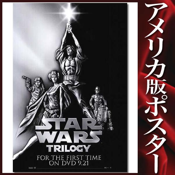 【STAR WARS ポスター】 スターウォーズトリロジー 映画グッズ /DVD/Video-SS