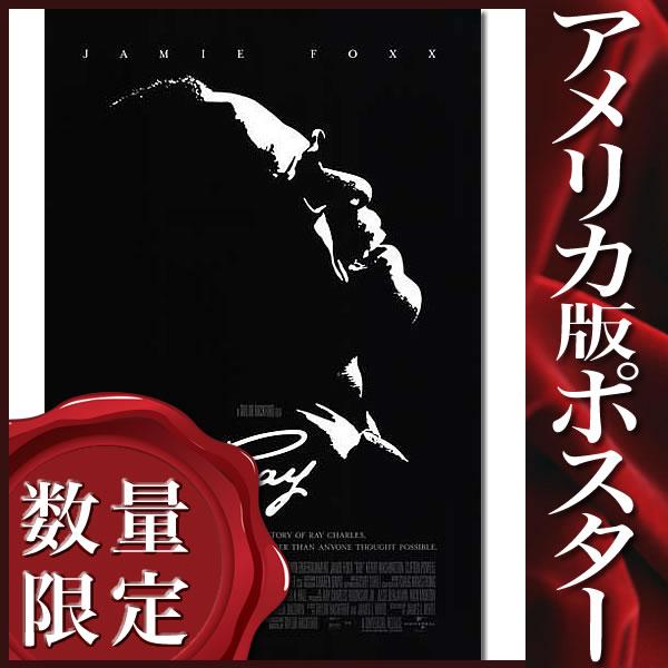 【モノクロポスター】 Ray/レイ (ジェイミーフォックス) /DS