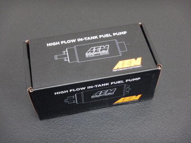 AEM製 大容量 320L 燃料ポンプ【汎用 新品】