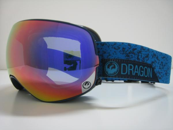 スノーボード ゴーグル ドラゴン 2016 レイトモデル DRAGON X2s STONE BLUE PURPLE IONIZED/PINK IONIZED JAPAN FIT