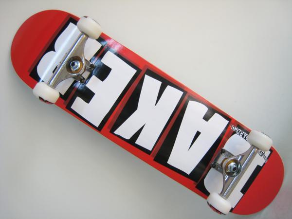 スケートボード ベーカー コンプリート セット 2017モデル BAKER Brand Logo White 8.125x31.5インチ