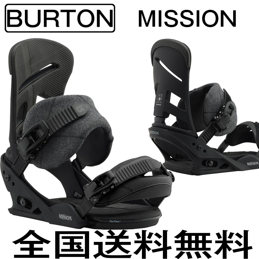 バートン 2018モデル BURTON Mission Re:Flex Black (M)