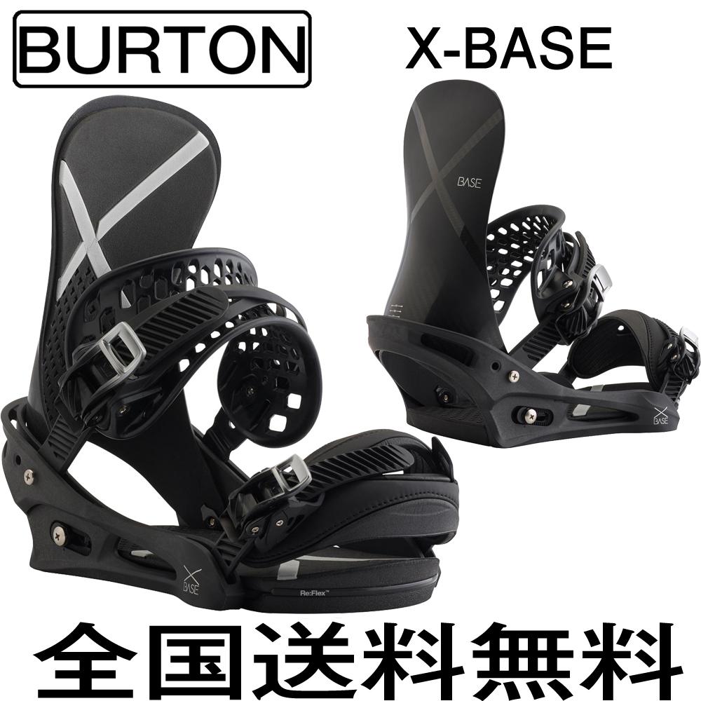 スノ-ボード ビンディング バートン 2018 BURTON BINDING X-Base Re:Flex Black (Mサイズ)