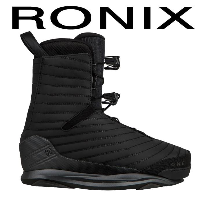 ウェイクボード ロニックス ブーツ 2018 RONIX ONE BOOT BLACK