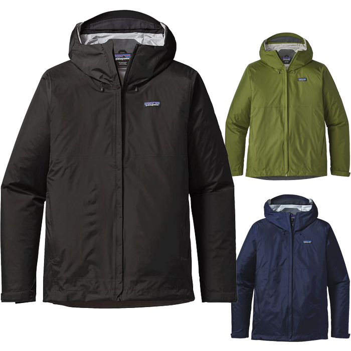 全3色! 2018年モデル Patagonia Mens Torrentshell Jacket