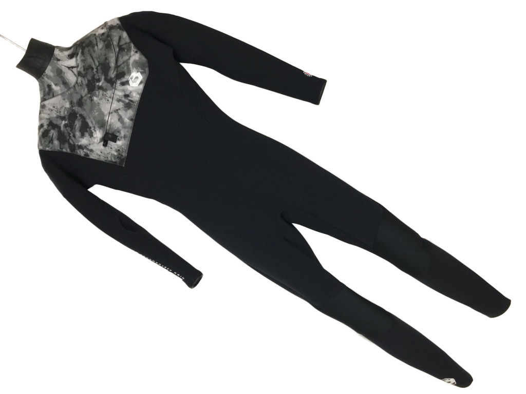サーフィン ビーウェット 2018 Be Wet BEWET FREE SHOULDER WET SUITS 3mm サイズ L ブラック/Tブラック