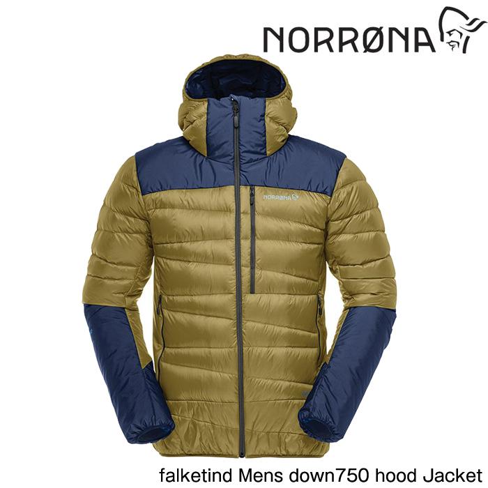 ノローナ メンズ フォルケティン ダウン750 フード ジャケット 2019 Norrona falketind down750 hood Jacket