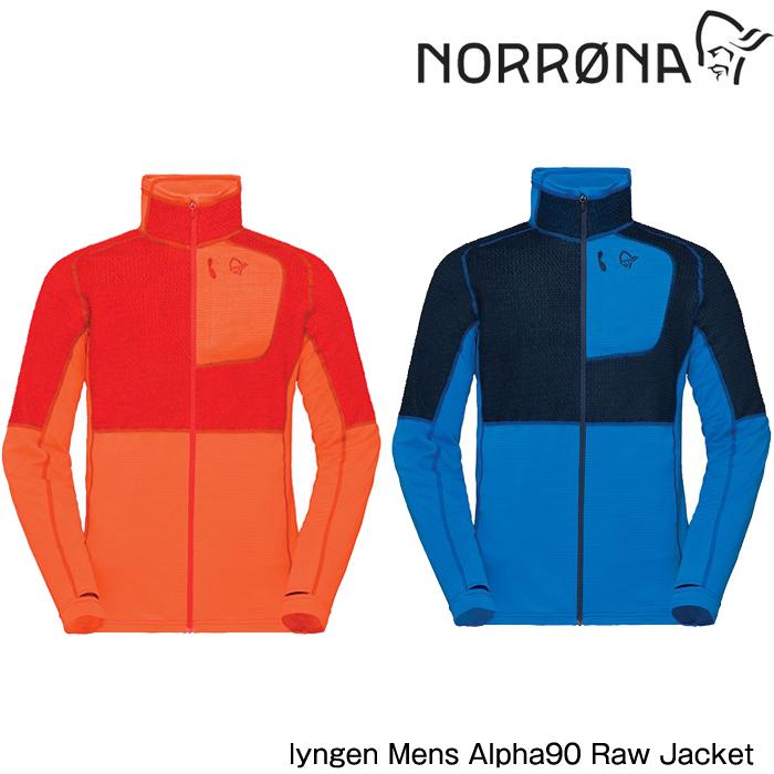 ノローナ メンズ リンゲン アルファ90 ロウ ジャケット 2019 Norrona lyngen Alpha90 Raw Jacket