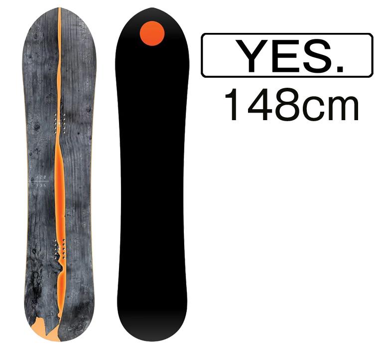 スノーボード イエス 2019 YES.SNOWBOARD THE 420 148cm