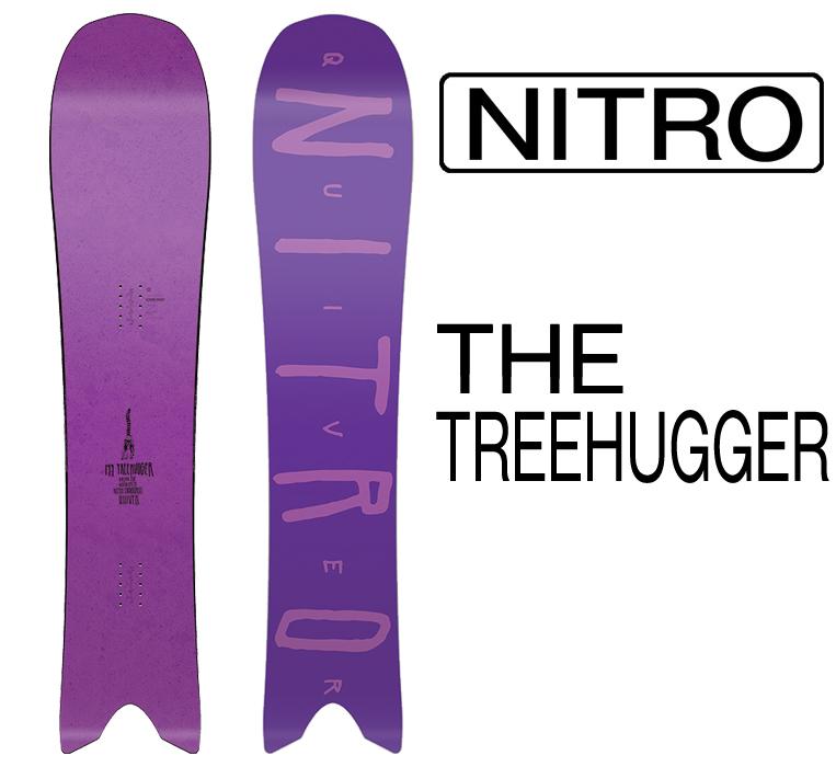 スノーボード ナイトロ 2019モデル NITRO QUIVER THE TREEHUGGER 149cm