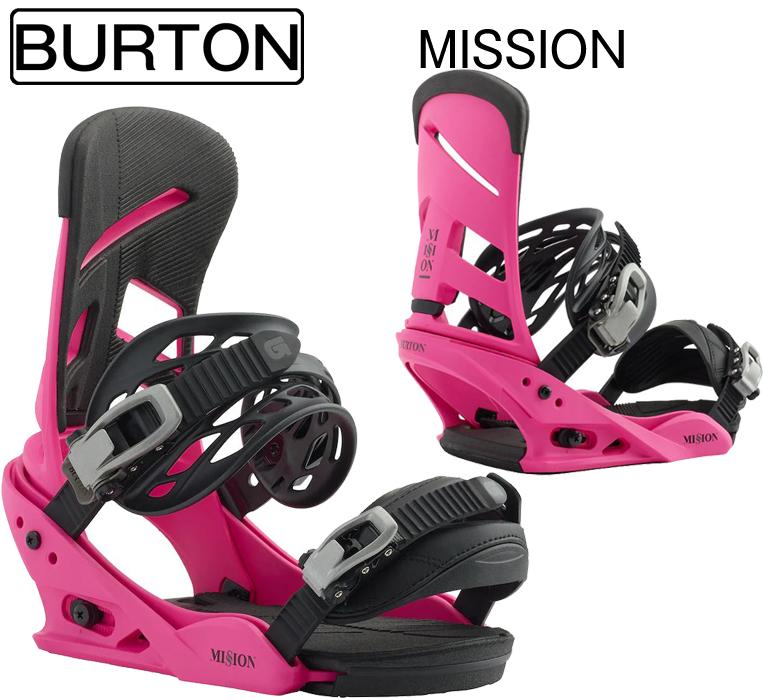 スノ-ボード ビンディング バートン 2019 BURTON BINDING Mission Re:Flex Pink