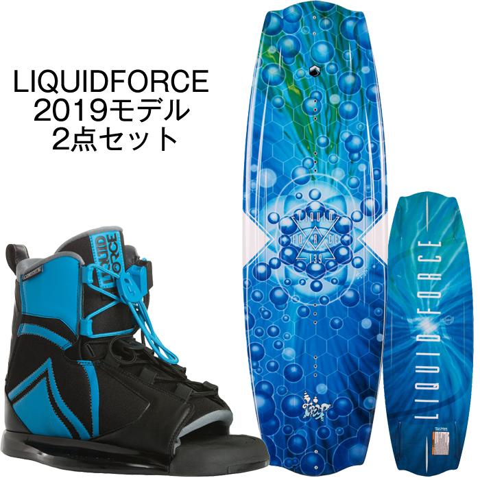 ウェイクボード リキッドフォース セット 2019 Liquid Force TRIP + INDEX BOOT