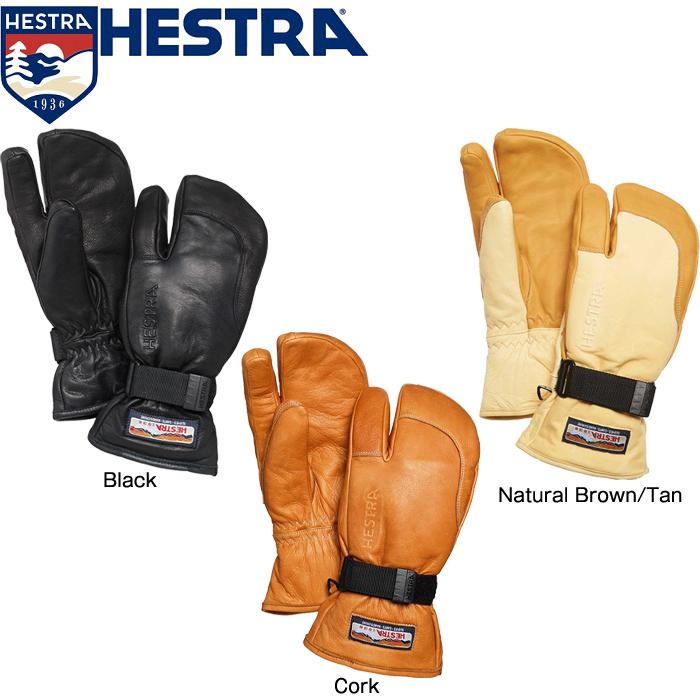 正規品 送料無料 スキー スノーボード 手袋 ヘストラ グローブ 2020 HESTRA 30872 3-FINGER FULL LEATHER