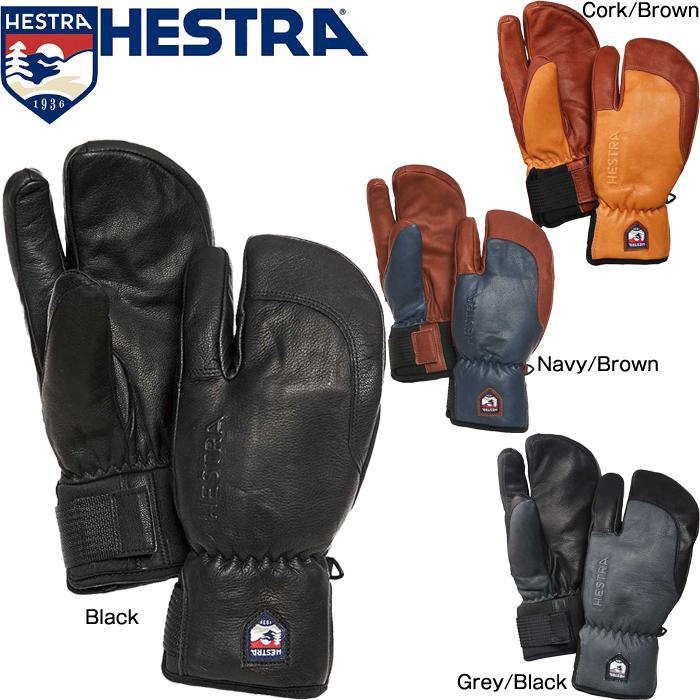 ヘストラ グローブ 2020 HESTRA 33872 3-FINGER FULL LEATHER SHORT