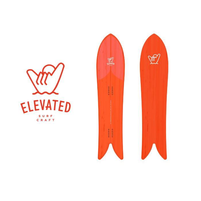 ELEVATED SURF CRAFT 4'6 Minni Fish スノーボード ミニーフィッシュ