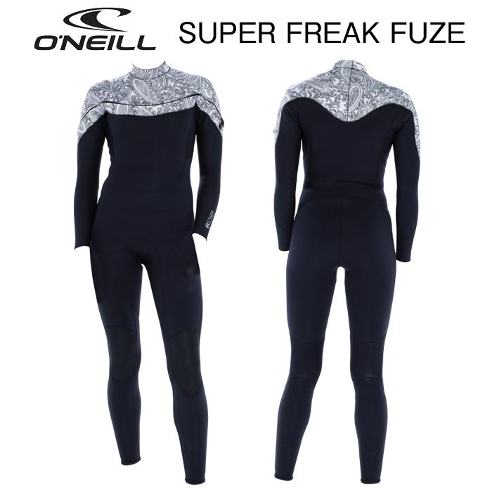 2020 女性用 O'NEILL WMS SUPERFREAK FUZE F.U.Z.E. SC 3mm x 2mm FULL SUITS オニール フューズ フルスーツ ウィメンズ レディース