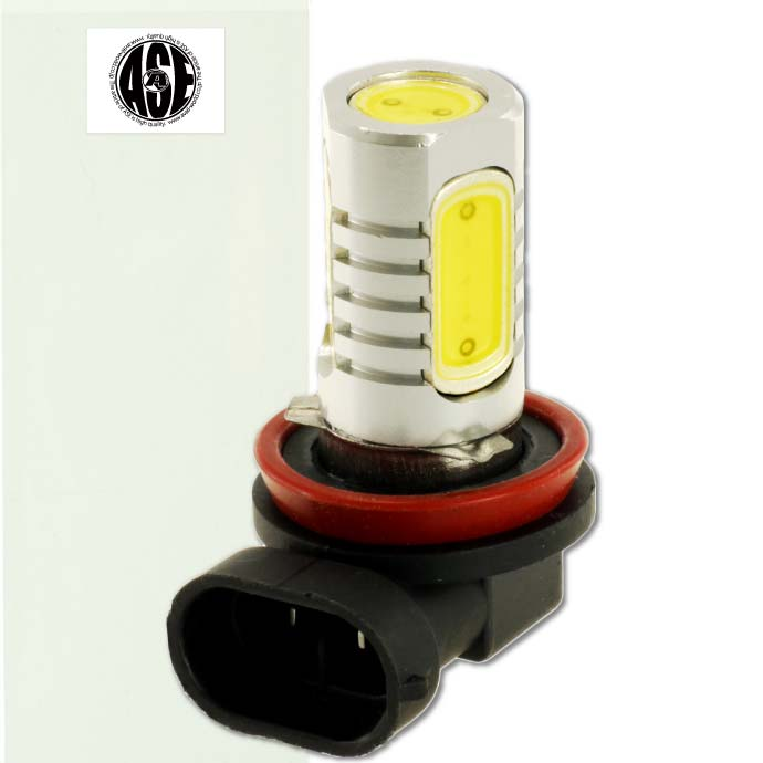 H8/H11フォグランプに最適 ポン付けで簡単取付け 6W LEDフォグランプH8/H11ホワイト1個 超明るいSMD LED H8/H11兼用 明るいフォグランプLED H8/H11 爆光LEDバルブ H8/H11 as90