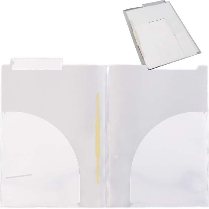 人気商品 医療用で使われるカルテなど保存するファイル クリアファイル A4 カルテフォルダー 40枚 ヨコ置き マチ付 カルテファイル NEW ダブルポケット カルテホルダー 見開き Sa03-40