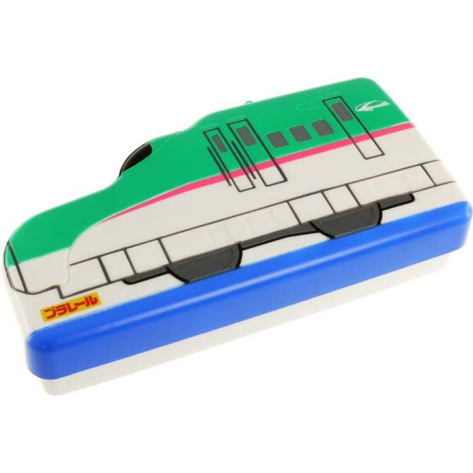 新幹線がお弁当箱に!カッコ良い形状のランチボックス プラレール新幹線はやぶさダイカットランチボックス LBD2 キャラクターグッズ プラレール弁当箱 ランチボックス カワイイ弁当箱 Sk213