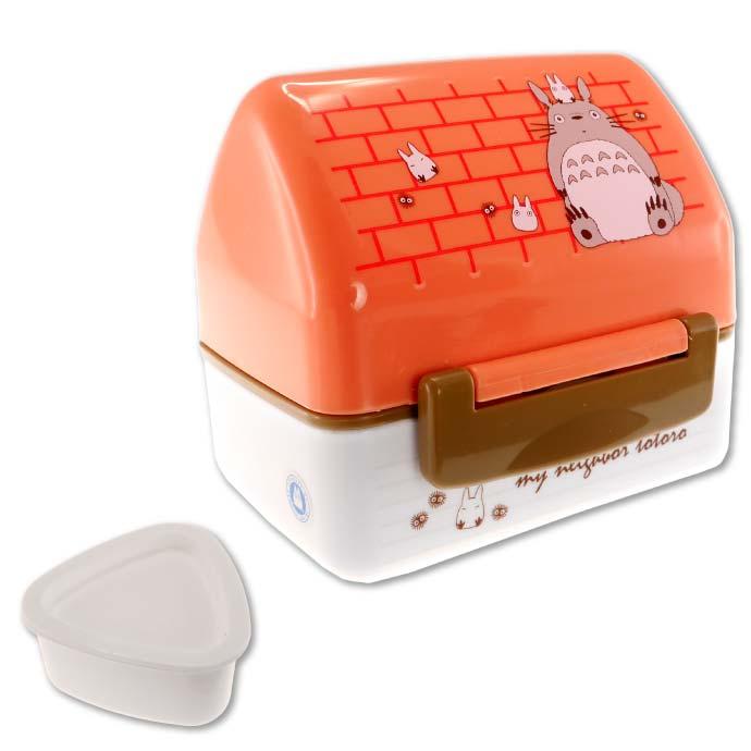 ハウスタイプのお弁当箱 新作製品 世界最高品質人気 アウトドア ピクニックに最適 新作アイテム毎日更新 トトロ お家型 おにぎりランチボックス POT5 キャラクターグッズ 弁当箱 かわいい形状のお弁当箱 Sk320