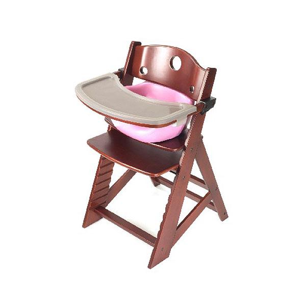 【Price Down!!】キーカルー 木製ハイチェア(マホガニー/ライラック)keekaroo High Chair set【kekaroo-hi002MA】【新商品続々入荷中♪】 upup7 apap8 fs04gm