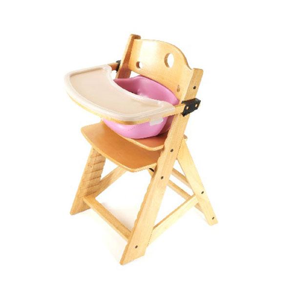 【Price Down!!】キーカルー 木製ハイチェア(ナチュラル/ライラック)keekaroo High Chair set【kekaroo-hi002NA】【新商品続々入荷中♪】 upup7 apap8 fs04gm