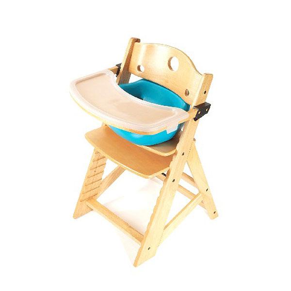 【Price Down!!】キーカルー 木製ハイチェア(ナチュラル/アクア)keekaroo High Chair set【kekaroo-hi004NA】【新商品続々入荷中♪】 upup7 apap8 fs04gm