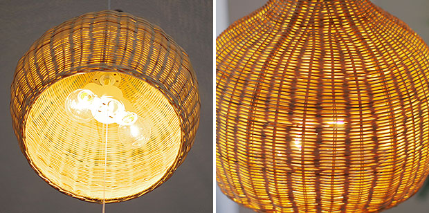 Bamboo Pendant Lights Dome Asian Oriental Exotic Natural Light 120 W Bedroom Sofa Dining Lighting Living S Built Moving Renovation