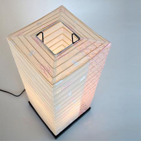 和紙 フロアライト うさぎ小梅ピンク ツインカラー 間接照明 和風 和室 洋室 和モダン リビング 寝室 引越し 新築 リフォーム 伝統工芸 インテリア照明 デザイン 彩光デザイン SS-3082