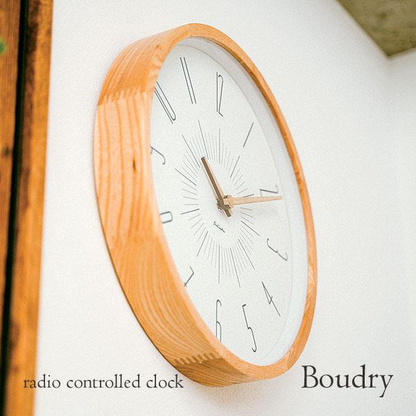 壁掛け電波時計 Boudry ブードリー インターフォルム INTERFORM CL-3349 アナログ おしゃれ ウォールクロック 掛け時計 アンティーク 人気 デザイン クラシカル クラシック レトロ 店舗 ディスプレイ 事務所 洋風 リビング ダイニング 一人暮らし