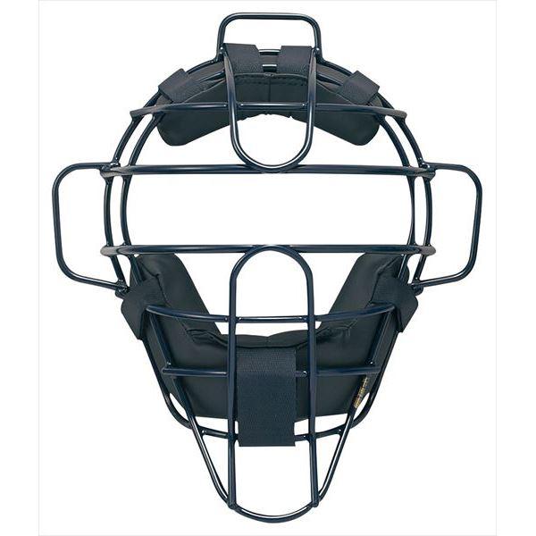 送料無料(※沖縄除く)[SSK]エスエスケイ野球キャッチャーズギア硬式用チタンマスク(CKM1800S)(70)ネイビー
