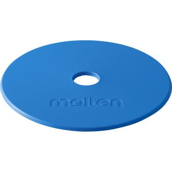 送料無料(※沖縄除く)[molten]モルテンマーカーパッド アウトドアフラットタイプ10枚セット(WM0010)(B)ブルー
