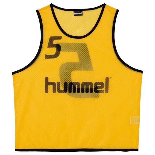送料無料(※沖縄除く)[hummel]ヒュンメルジュニアトレーニングビブス(HJK6006Z)(30)イエロー