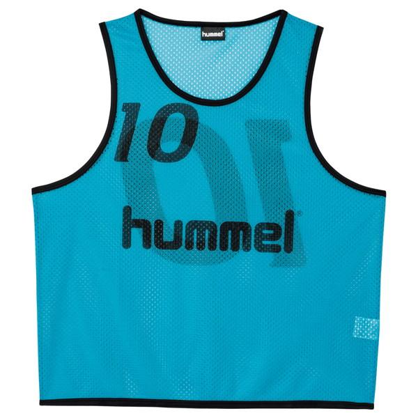 [hummel]ヒュンメルジュニアトレーニングビブス(HJK6006Z)(62)ターコイズ