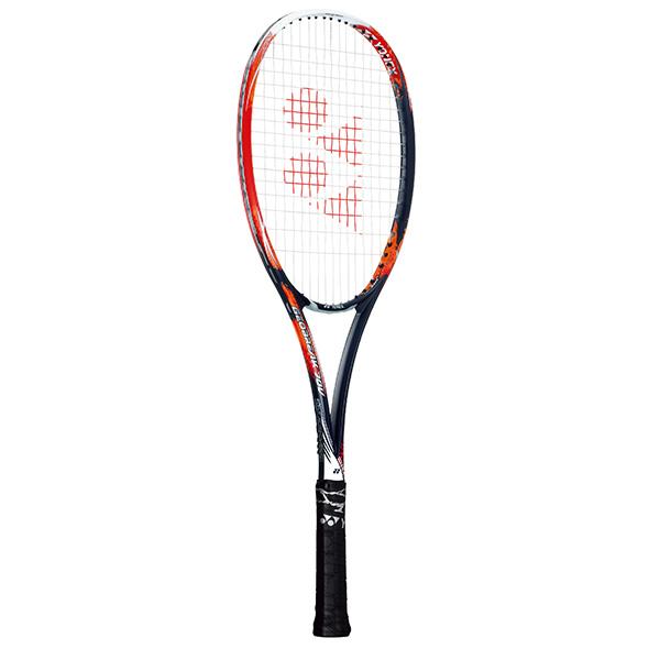 送料無料(※沖縄除く)[YONEX]ヨネックス軟式テニスラケットジオブレイク70V(GEO70V)(816)クラッシュレッド※フレームのみ