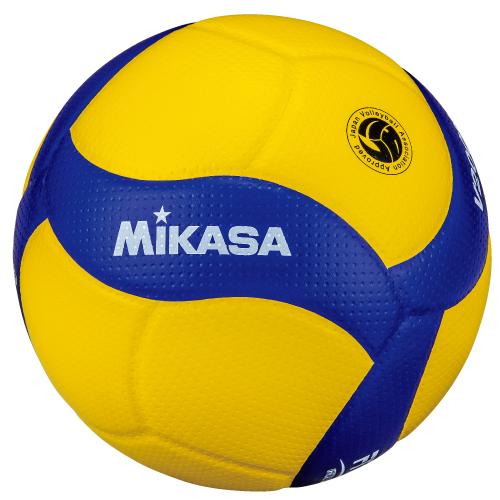 送料無料(※沖縄除く)[MIKASA]ミカサバレーボール検定球5号 国際公認球国際バレーボール連盟公式試合球(V200W)2019年新デザイン